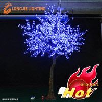 3456 Holiday outdoor led tree light/led lighted cherry tree/artificial cherry tree