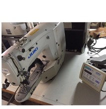 Good condition used Original JUKI 1900 industrial computerized bar tacking sewing machine with low price