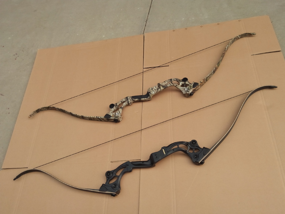 F163 take down fishing recurve bow compound bow hunting for Compound bow fishing