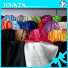 Cheap polyester satin fabric/ spandex heavy satin fabric for dress lining
