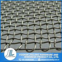 insect fence high strength stainless crimped wire mesh