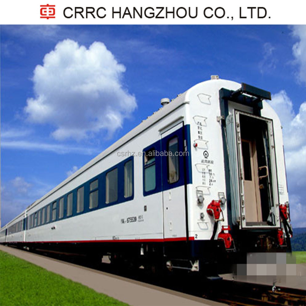 25T sleeping carriage with cushioned berths/ passenger coach/ trail car/ carriage/ railway train