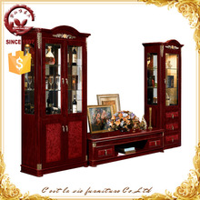 Classic wall unit for living room furniture