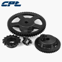 Boring and keywaying service available roller chain sprocket