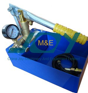 Water pressure testing pump/Hand operated piston type test pump
