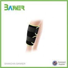 Sports support neoprene shin splint calf compression sleeve