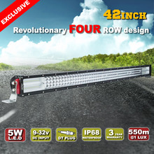 Top Selling 42 inch 1240w 4 Row Waterproof High Power Led Light Bar