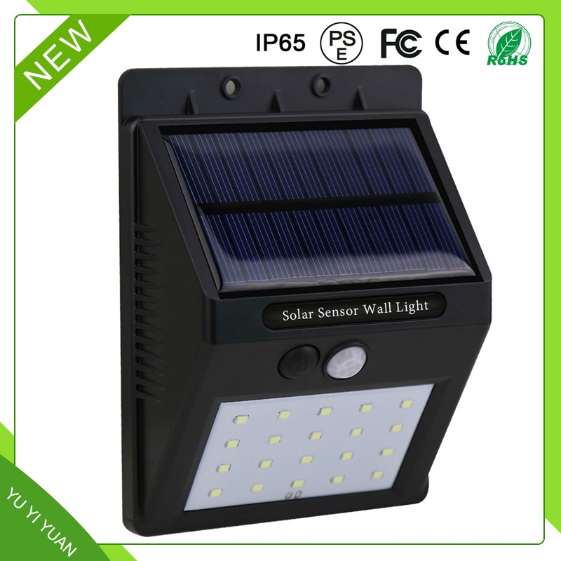 Cheap Portable Solar led Light with high quality, Multifunction FOR 20LED Triangle Wall Light