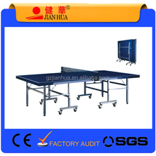 Best Selling Cheap Waterproof Removable Outdoor Folded Portable Table Tennis Table Pingpong Table