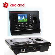 Realand A-C061 biometric rfid card scanner time attendance terminal with 2000 fingerprint log