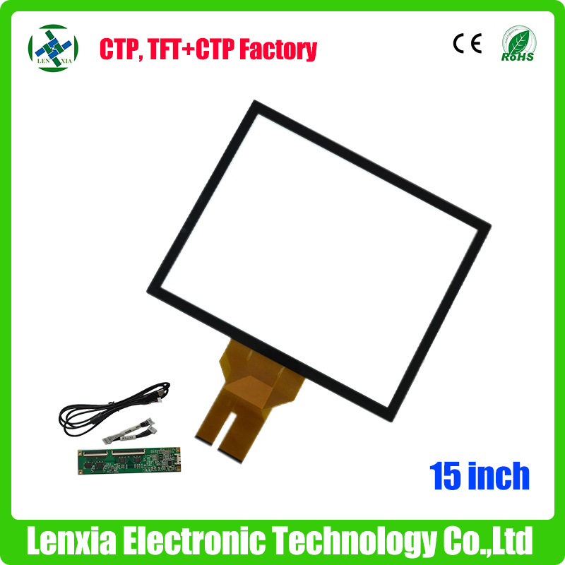 Factory price industrial 15 inch touch screen digitizer