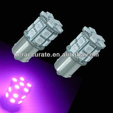 1156 BA15S 20SMD 5050 LED AUTO SIGNAL Turn LIGHTs Purple Pink 12V/24V