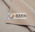 Woolen fabric camel color over coating