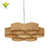 Unique lamp chandeliers pendant light, modern wooden ceiling chandelier