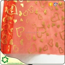SHE CAN PACK gift packaging organza roll with different design
