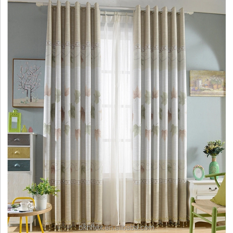 point patterned fabric swag fashion valance curtains