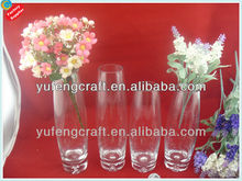 Home decoration glass vase with competitive price