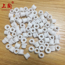 Ceramic parts eyelet guide for textile machinery