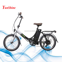 Changzhou Yunshine Summer Promotion ,mid drive coyote connect folding electric bike
