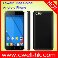 Original Dual SIM Card 4 inch double camera Lowest Price China Android Mobile Phone
