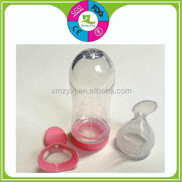 Highest Quality Feeding Silicone Baby Bottle spoon