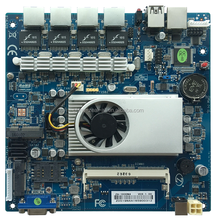 Mini ITX Intel J1800 2.41GHz Dual core CPU Integrated 4 LAN Intel WG82583 DC_IN 12 VC Firewall Motherboard ZA-1800N4