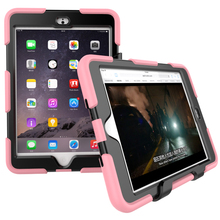For iPad Mini 3 Case PC+Silicone Case For iPad Mini 3 Case