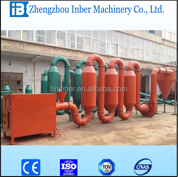 wood sawdust dryer / wood log powder drying machine for sawdust price