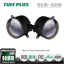 "Competitive Price 3.5"" Round LED AUTO DAYTIME led drl fog light for renault megane"