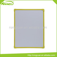 Plastic frame corrugated cardboard inside small whiteboard size