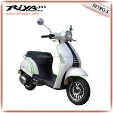 2014 hot sale vespa scooter 50cc gas scooter/motorcycle with EEC/COC 45km/25km/h