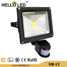 NH-12 PIR Motion Sensor outdoor LED flood light with waterproof IP65 50W