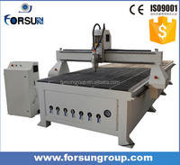 China wood furniture factory equipment !! MDF/PVC/Plastic cutting cnc router FS2030A