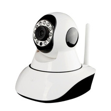 Two-way audio, support Remote Pan/Tilt rotate Onvif Video WIFI/WIRE HD Network 360 viewerframe mini ip wifi camera