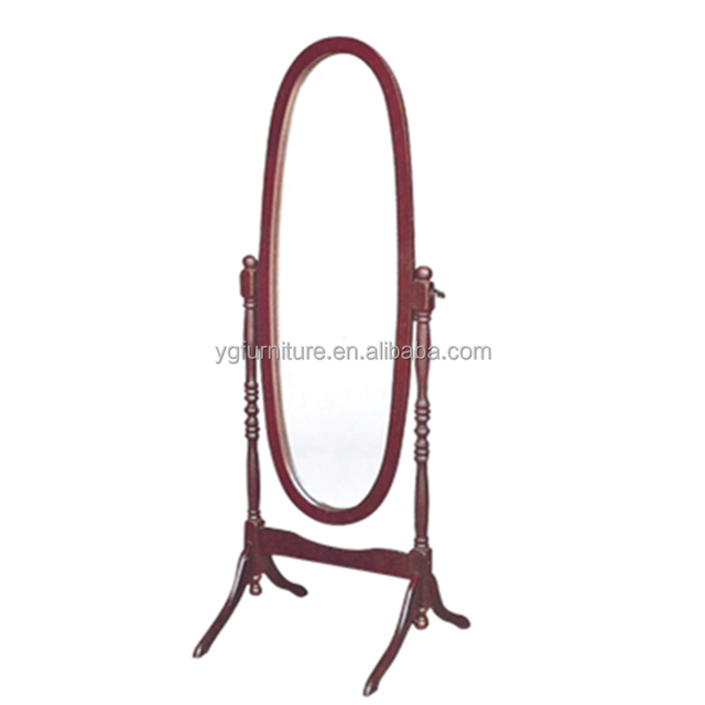 Decorative Standing Full Length Home Usage Cheval Mirror Dressing Mirror