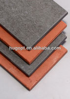 plain color exterior cladding board fiber cement decoration building material