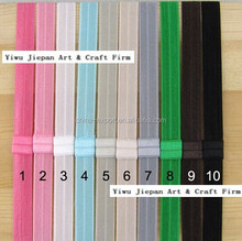 JPHAIR150522 2015 wholesale fashion European hot sale women kids candy rainbow color DIY Elastic rubber hairbands