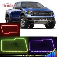 External drivers RGB halo rings for pickup trucks Ford F150 rgb angel eyes headlight 2009--2014