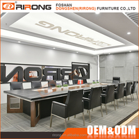 China Modern New Design Luxury Meeting Table 3 Meter Office Conference Table
