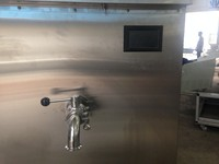 Modular goat milk pasteurizer with imported compressor