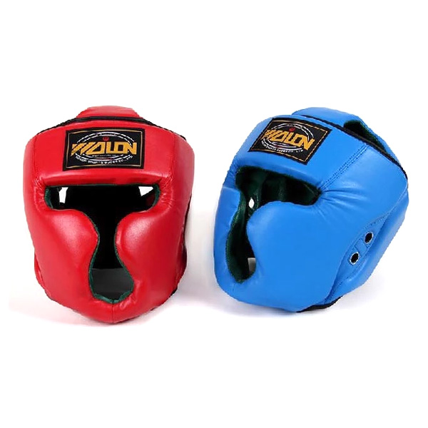 High quality kick boxing boxing helmet and head guard