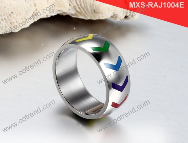 Hot sell rainbow gay body jewelry gay pride jewelry