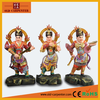 Chinese large size solid wood Twelve Heavenly Generals buddha statues