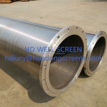 (Manufacture) 8-5/8inch 219mm deep Well Johnson Screen/20 slot well screen with thread
