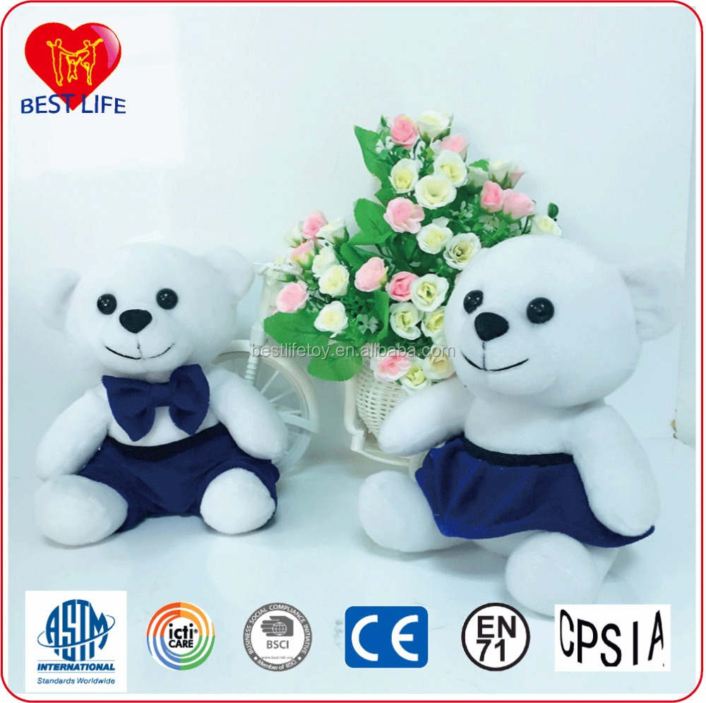 2017 New Style Nivea Swimming Bear Plush Toy, Customized Stuffing Teddy Bear with Cover-ups