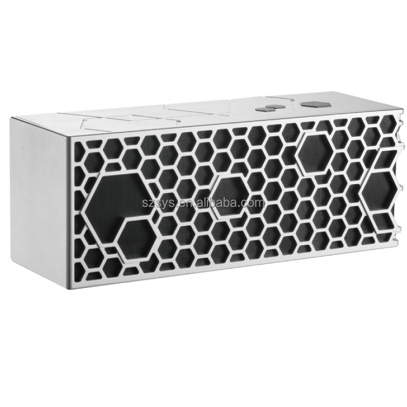 PROMOTIONAL RECTANGULAR BLUETOOTH SPEAKER WIRELESS SUPER BASS PORTABLE OUTDOOR ACTIVE AUDIO PLAYER BOCINA BEE MINI SOUND BOX
