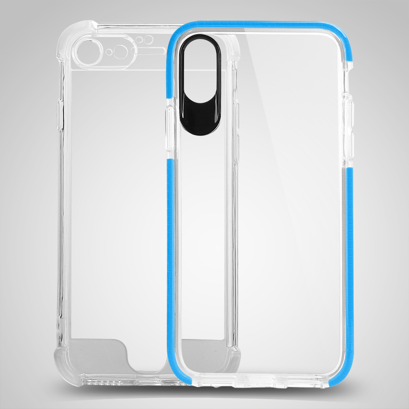 Ultra-Thin Protective Gel Cover Case Back Cover Case for iPhone X Cellphone