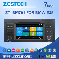 ZESTECH FActory Price car accessories interior For BMW E39 with Map, Vmcd, Game, Support Ipod, Gps, Dvd, AUX, SWC, A/V, In/out