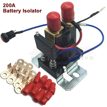 12V 200 AMP Battery Isolator Dual Battery Auto Increase Battery