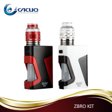 new technology Zbro 1300mAh 20-60W mods double coils glass rda dropship vaporizer